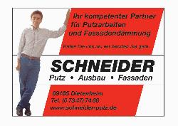 Schneider - Stuckateur Ausbau/ Fassade